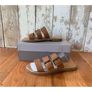 Franco Sarto Kasa Tan Brown Sandal 8.5M